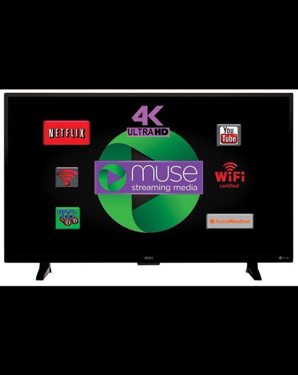 Seiki Ultra High Definition 4K Smart TV, 48-in
