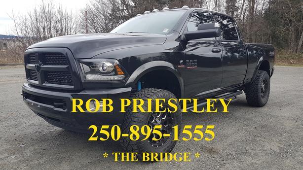 2017 RAM 2500 CREW CAB LARAMIE DIESEL 4X4 * MANUAL TRANSMISSION * THE BRIDGE *