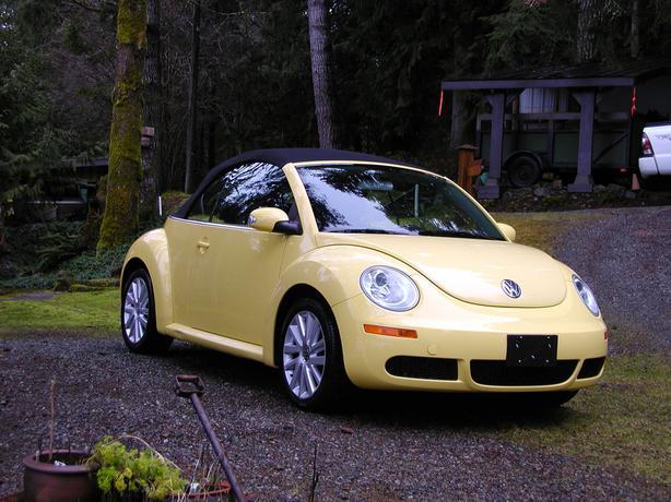 2008 vw new beetle convertible