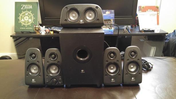  Log In needed $40 · Logitech z506 5 1 Surround Sound Speakers
