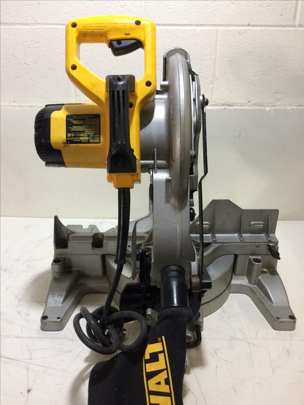 """DeWalt DW703 10"""" Compound Mitre Saw Type 3"""