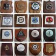 Vintage Navy Plaque Collection 1973-1984 - Parksville, BC