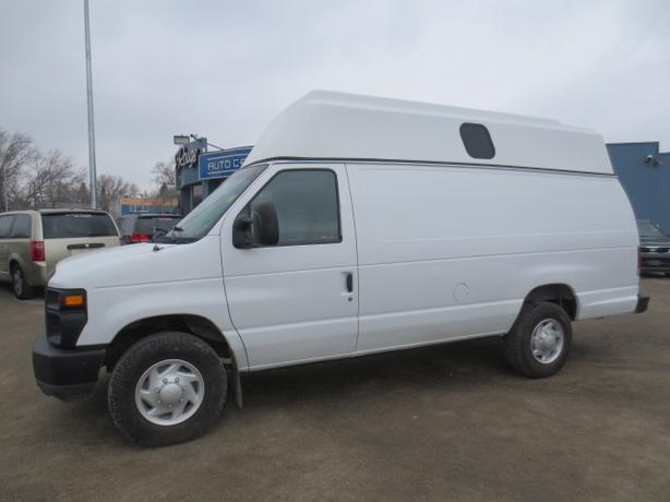 2008 FORD E350 CARGO HIGH TOP