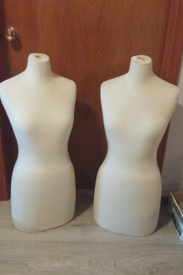 Two female 1/2 Mannequins