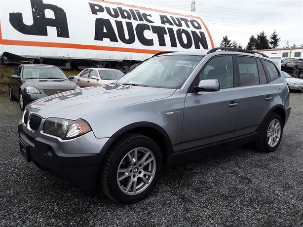 2006 BMW X3, AWD 6 cyl, leather interior, Bluetooth, 215k km's.