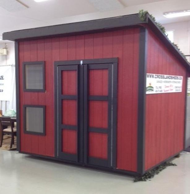 CROSSLAND STORAGE SHEDS.