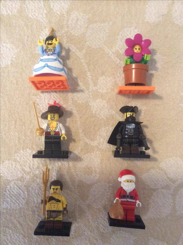 FOR TRADE: Lego Minifigures Series 18 17 12 8