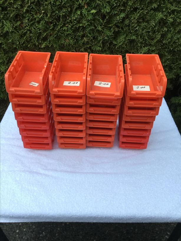 4X6 Stackable boxes