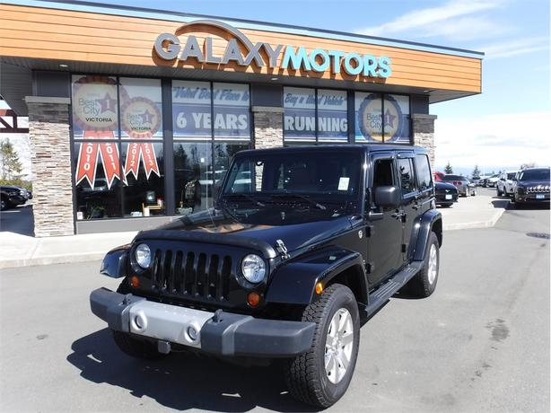 2012 Jeep Wrangler Unlimited SAHARA- Nav, Leather, BC Only