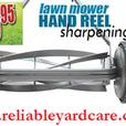 Winnipeg Mobile Reel Push Lawnmower Sharpening
