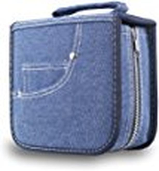 FORE® Legend Denim CD/DVD/Blu-Ray Disc 60pcs Wallet Case