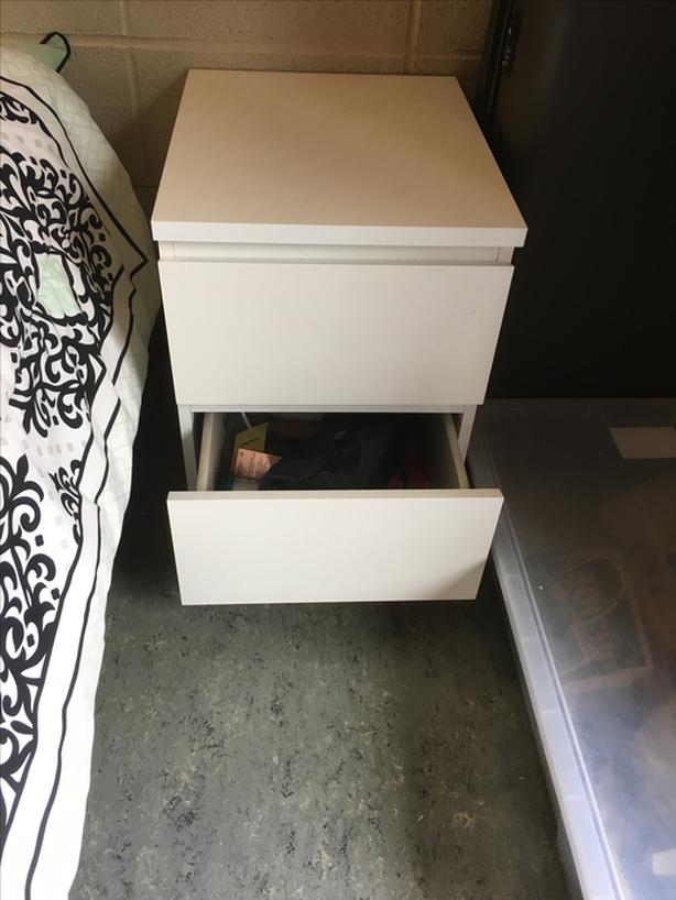 Bedside Table/ Nightstand - Barely Used