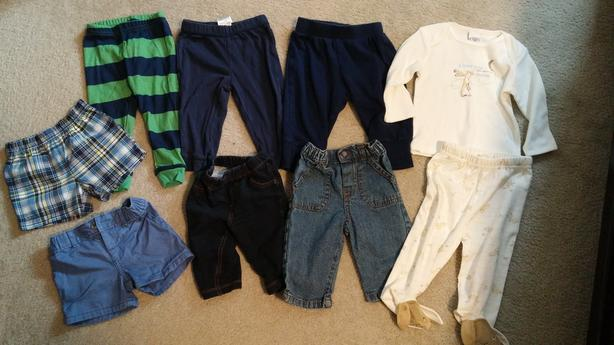 Baby Clothing 6 months - Lot of 25 Pieces