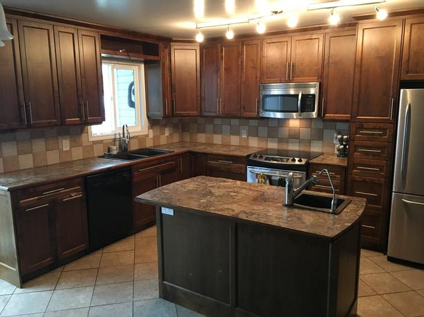 Kitchen cabinets west shore langford colwood metchosin for Kitchen cabinets york region