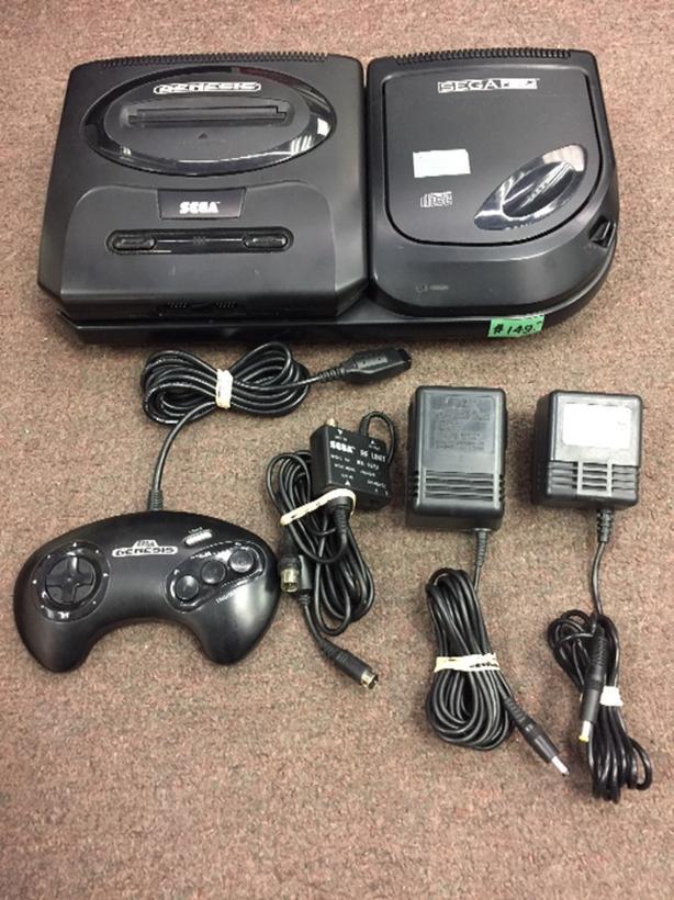  Log In needed $149 · Sega Cd + Sega Genesis II combo