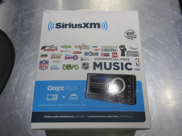 "SIRIUS SATELLITE ""ONYX"" PLUS"