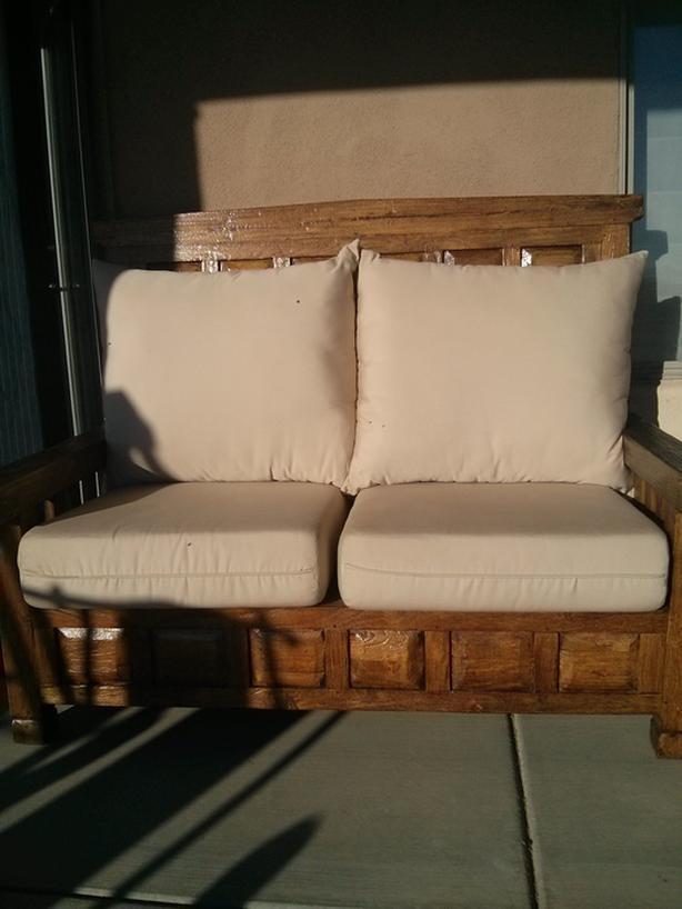 Beautiful 4pc Teak Patio Furniture