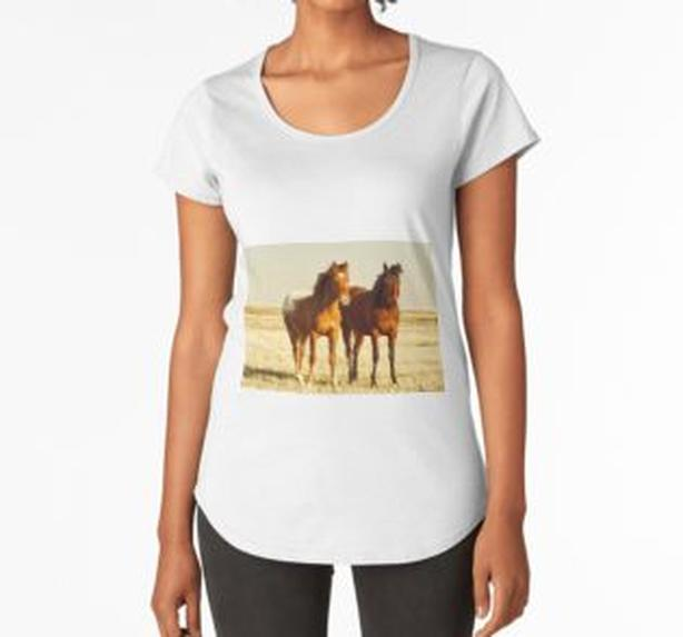 Horse buddies Canadian prairies, picture on a variety of great gift items!