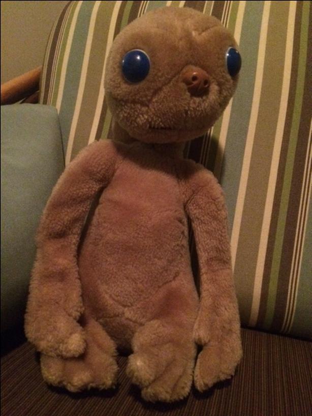 ET 1982  plush doll