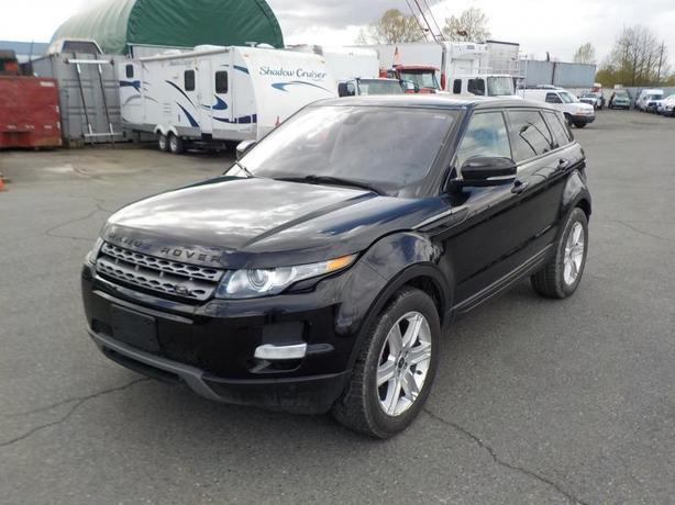 2013 Land Rover Range Rover Evoque All Wheel Drive
