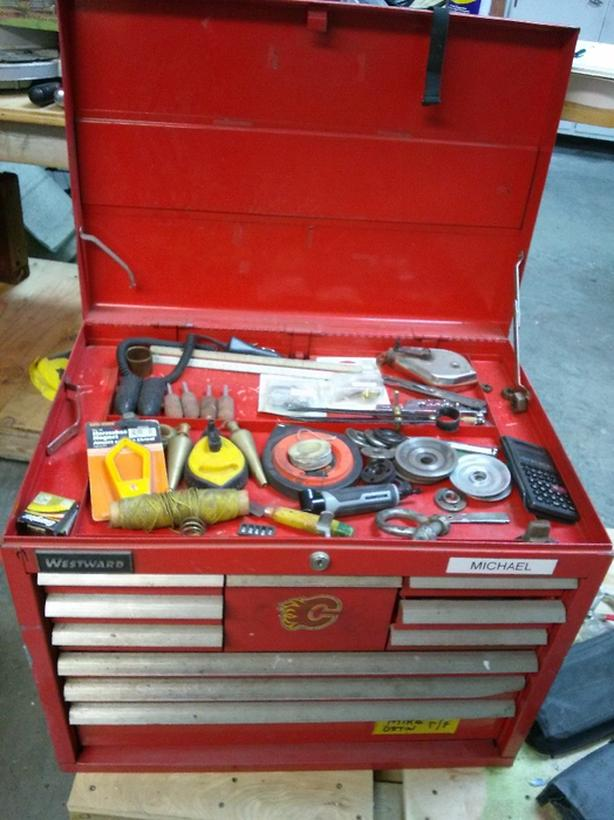 Estate Lot of Tools Tool Chests Power Tools
