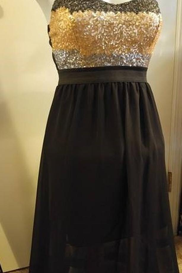 Hi Lo Strapless Dress New With Tags