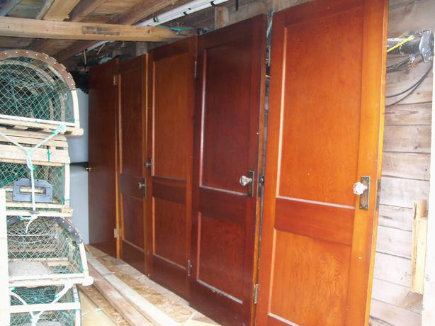 assorted wooden doors