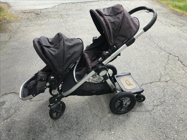 City Select Stroller (2 Seats & Glider Board)