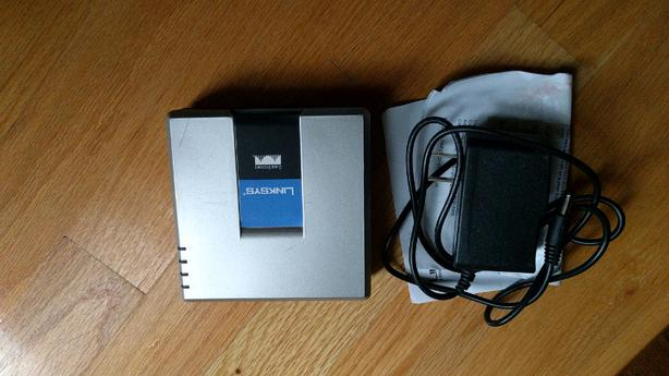 Linksys Cisco PAP2T Voip Adapter