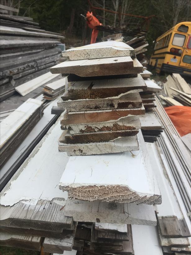Clad siding wood 7 inch