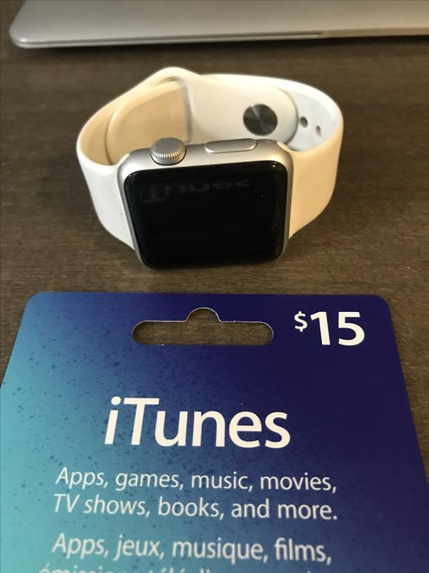 Apple Watch and ITUNES for sale! 120 OBO