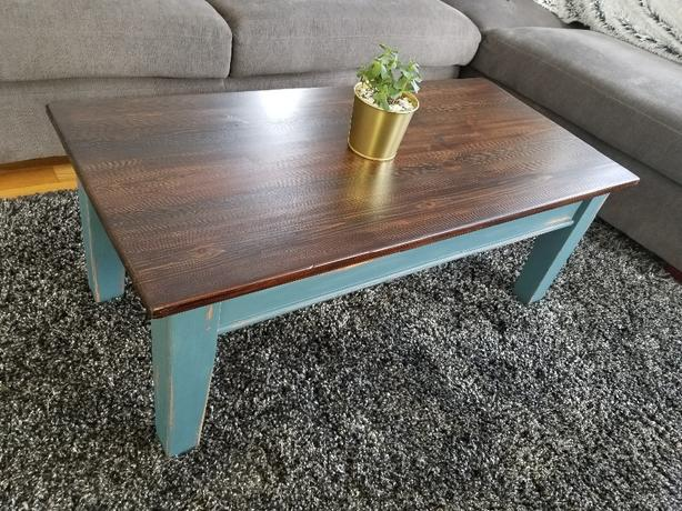 Refinished Rustic Coffee Table Esquimalt View Royal Victoria - How to refinish a coffee table rustic