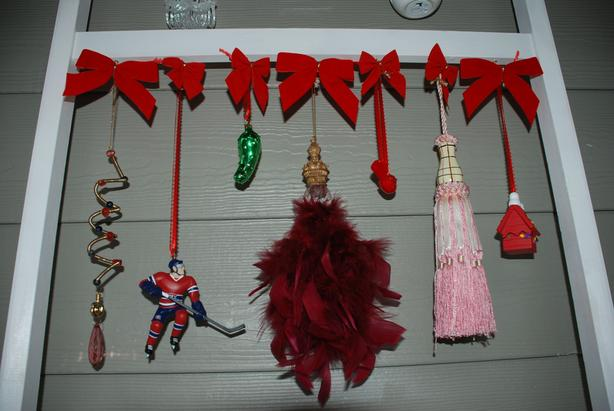 Hand-crafted Display For Your Ornaments