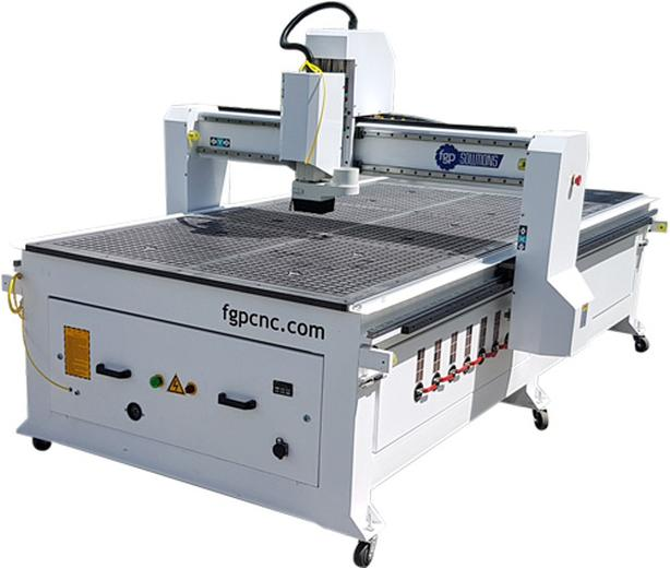 4ft x 8ft Industrial CNC Router Single or Three phase