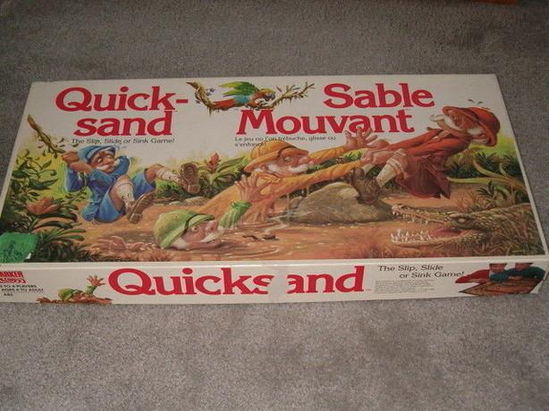 quick sand game 1989