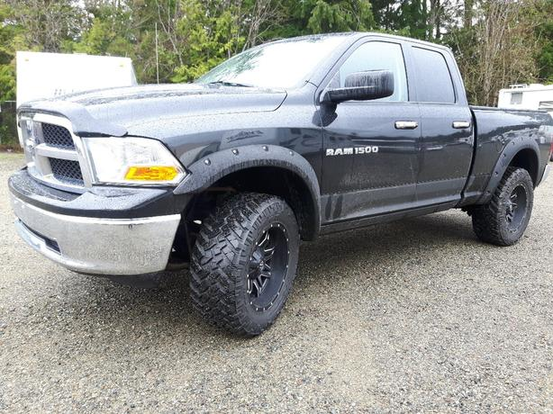 USED 2011 RAM 1500 4x4 QUAD CAB FOR SALE IN PARKSVILLE