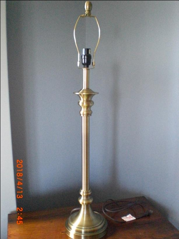 Beautiful Brass table lamp