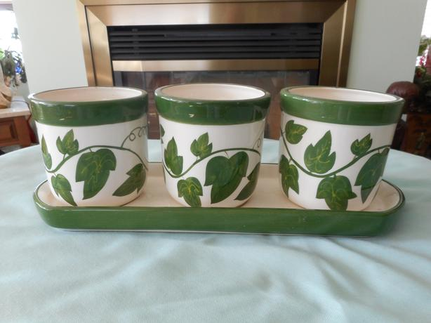 Plant pot set
