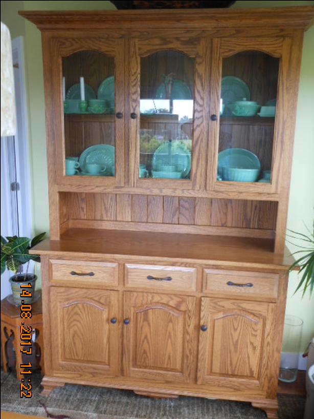 OAK DINING HUTCH