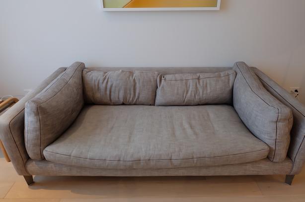 "Modern Custom Made Montauk ""Harris"" Sofa"