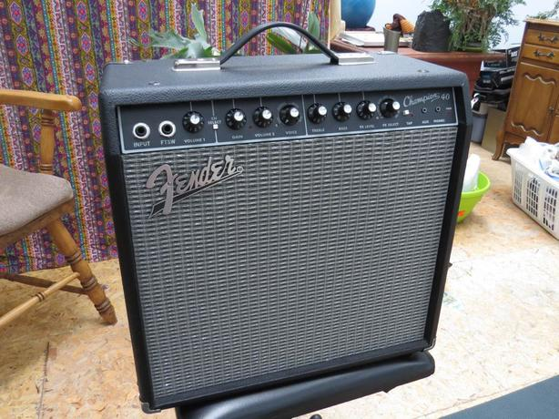 Fender Champion 40 (1-12) combo amp MINT! Saanich, Victoria