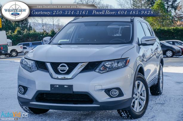 2016 Nissan Rogue with factory warranty