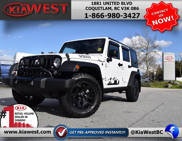 2015 Jeep Wrangler Unlimited Sport 4x4 V6