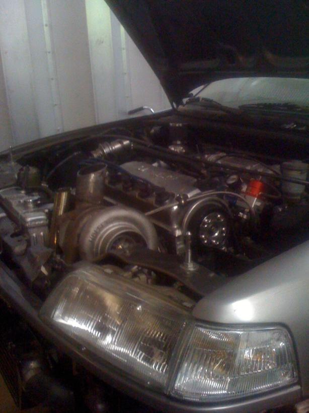 honda D16 Turbo kit and motor+shell Saanich, Victoria