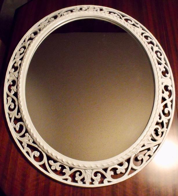 HUGE  Ornate Wall Mirror