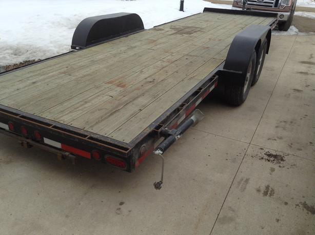 24' Utility trailer