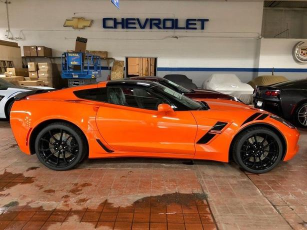 2019 Sebring Orange Grand Sport 3LT Corvette is Here!!!