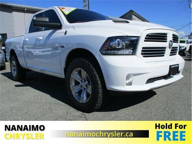 2014 Ram 1500 Sport One Owner Low Kilometers