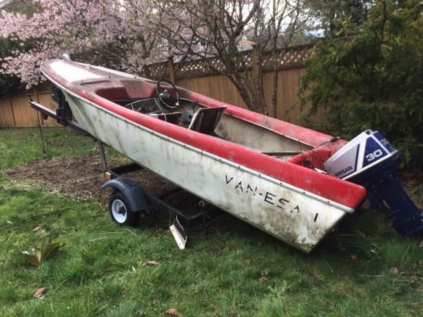 nissan boat