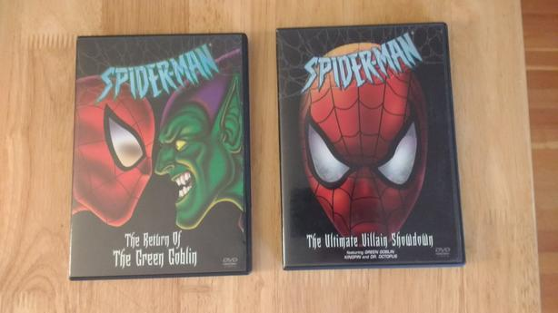 Classic Spider Man DVDs (2)